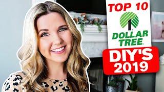 2019 My Top 10 Dollar Tree DIY Projects
