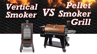Vertical Smoker vs Horizontal Pellet Smoker Grill - Which To Buy
