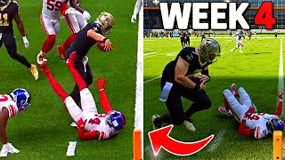 RECREATING THE TOP 10 PLAYS FROM NFL WEEK 4! Madden 22 Challenge