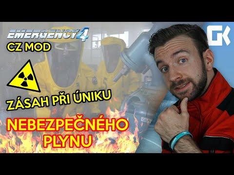 ZÁSAH PŘI ÚNIKU NEBEZPEČNÉHO PLYNU! | Emergency 4 CZ Mod #02