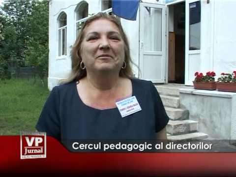 Cercul pedagogic al directorilor