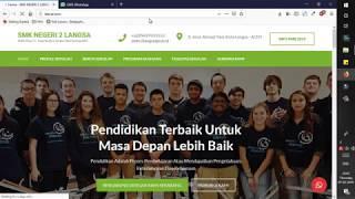 Membangun Website Sekolah Professional Dengan CMS WordPress