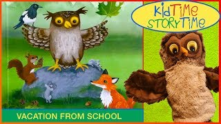 The Owl Goes On Holiday   Kids Books Read Aloud!