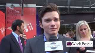 Крис Колфер, Chris Colfer à Paris, interview au Champs Elysees Film Festival
