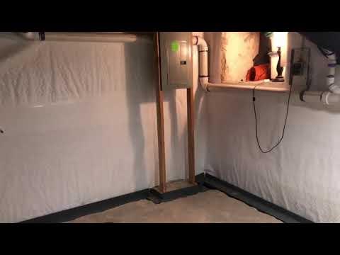 Basement Waterproofing Job in Fort Washington, PA