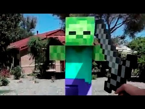 MINECRAFT IN REAL LIFE 14 | MINECRAFT ANIMATION vs REAL LIFE