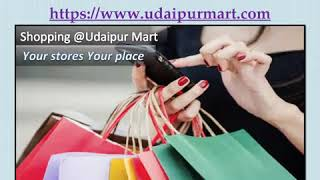 Udaipur shopping market