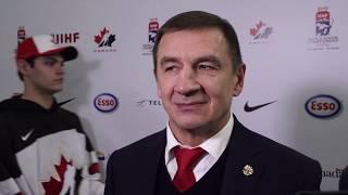 """""""Мы победили Канаду не в честь праздника, а бились за свою страну"""" (интервью Брагина и игроков)"""