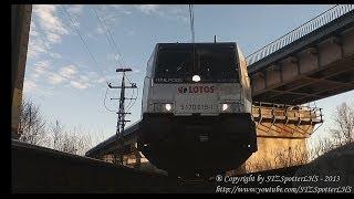 preview picture of video '[LOTOS KOLEJ] Bombardier Traxx E483 - 256 [Under Train] z próżnym Połańcem'