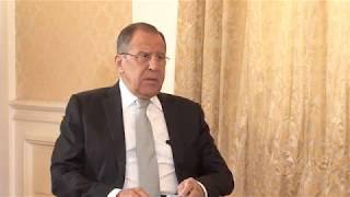 """Интервью С.В.Лаврова для т/к """"Рудав"""""""