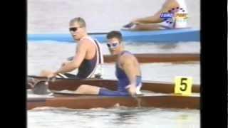 Atlanta OLymic at 1996 Men K1 final 500m
