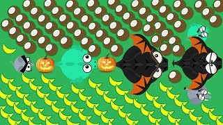 MOPE.IO / MOUSE TO BLACK DRAGON WITH PUMPKINS ONLY / BD KILLS BD