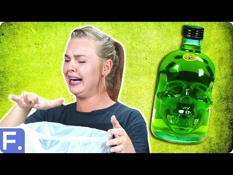 Irish People Try Absinthe For The First Time