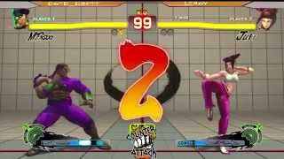 preview picture of video 'SSF4AE: BOTB_Brett [M.Bison] vs Leroy [Juri] Counter Attack 2014'