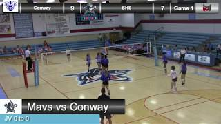 JV Volleyball vs Conway 8-30-18