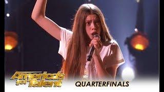 Courtney Hadwin: Shy British Schoolgirl With SHOCKING Talent WOWS! | America