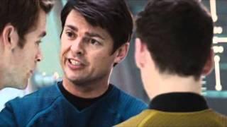 Karl Urban as Dr. Leonard McCoy