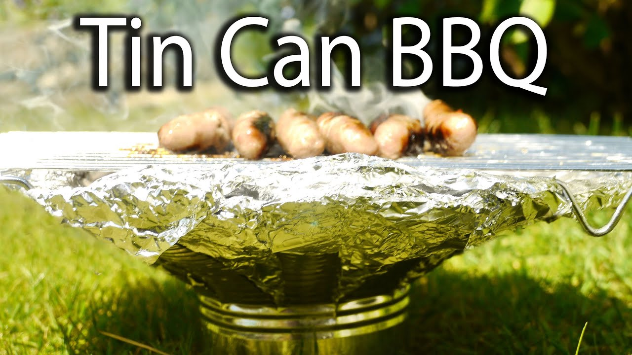 How to Make a Tin Can BBQ Grill thumbnail