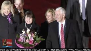 Vice President Mike Pence and Second Lady Pence Arrive In Munich Germany Fro Security Conference!!!