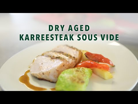 Dry Aged Karreesteak Sous Vide
