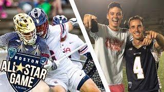 ON THE FIELD for the OT GAME WINNER ! USA Vs. All-Stars