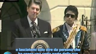Michael Jackson at the White House 5 -14 -1984 sub ita.avi