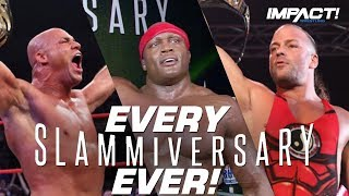 The Ending to Every Slammiversary EVER! (2005-2018)