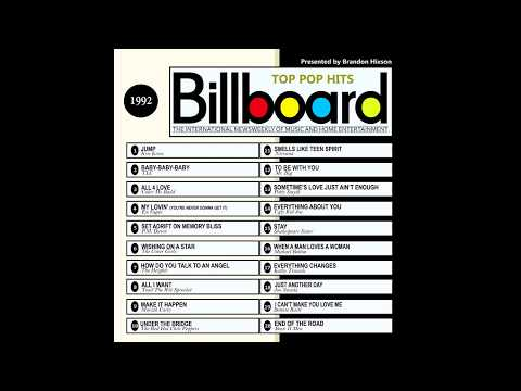 Billboard Top Pop Hits - 1992 Mp3