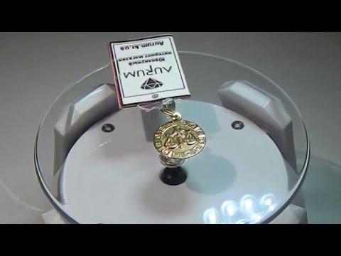 "Знак зодиака ""Весы"" Золото 585 проба"