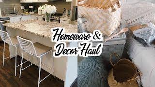 AFFORDABLE HOMEWARE / DECOR HAUL | Target, Ikea, Bed Bath & Beyond, Homesense, Superstore