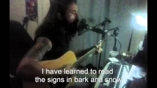 Bathory - Man Of Iron (cover + lyrics)