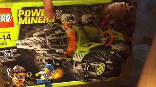 Распаковка двух наборов Lego Power Miners с BrickLink