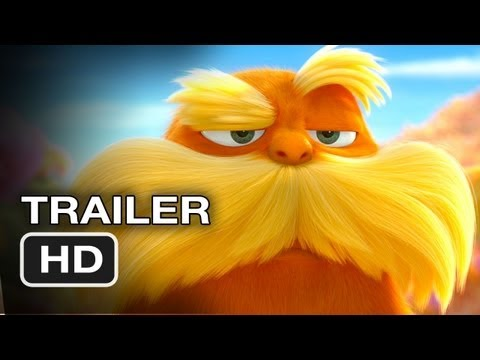 Dr. Seuss The Lorax  Blu-ray/DVD combo movie- trailer