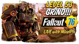 Figuring out this Nuke Crap - Official Launch /w MixelPlx - Fallout 76 LIVE🔴