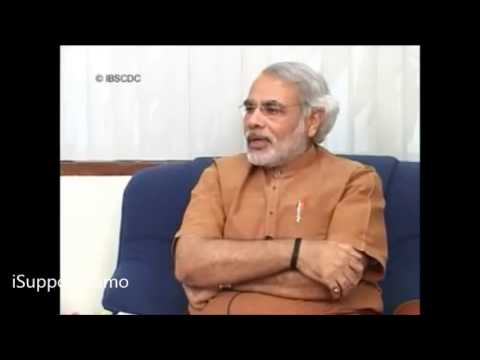 Exclusive : Narendra Modi's Views on Caste Based Reservation in India !