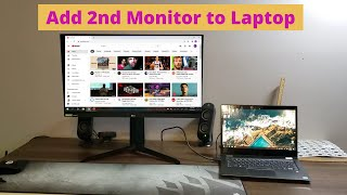 How to Connect a Second Monitor to Your Laptop