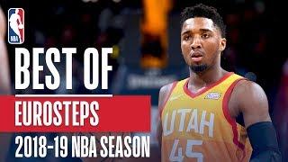 NBA's Best Euro Steps | 2018 19 NBA Season | #NBAHandlesWeek