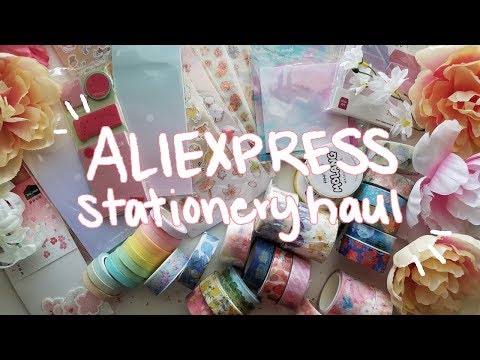 ❀ Cheap Stationery Haul | Washi Tape, Stickers, + More! ❀