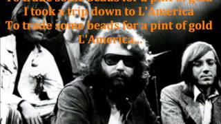 The Doors - L'America (lyrics)