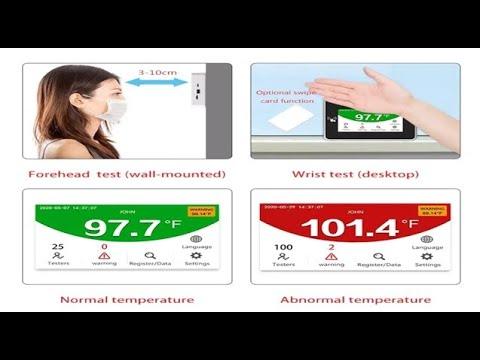 Portable Body Temperature Scanner