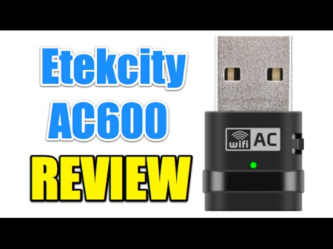 Etekcity AC600 Adattatore USB Wireless - REVIEW (ITA)