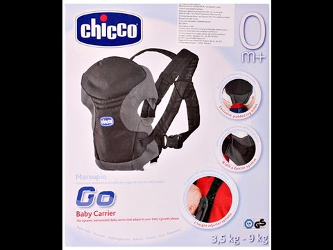 Go Baby carrier| Chicco Go 2 Way Baby Carrier Black