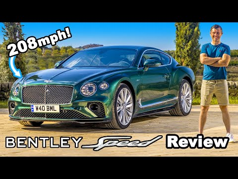 208mph Bentley GT Speed review: see how quick it really is.