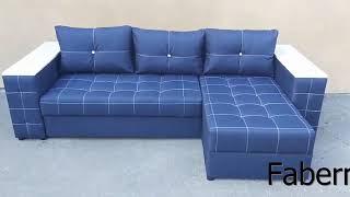 Угловой диван еврокнижка  Атлант от компании Фаберме - видео 1