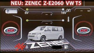 Produktvorstellung Zenec Z-E2060 - Multimedianavigation für VW T5 Multivan