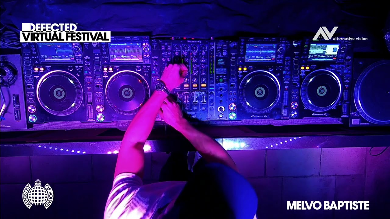 Melvo Baptiste - Live @ Defected Virtual Festival 2020