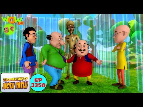 Invisible Cage - Motu Patlu in Hindi - 3D Animation Cartoon - As on Nickelodeon