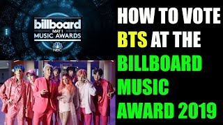 HOW TO VOTE BTS AT THE 2019 BBMAs [BILLBOARD MUSIC AWARDS 2019]