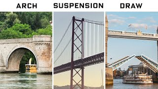 Every Bridge For Every Situation, Explained By an Engineer