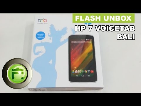 Unboxing and Hands On HP 7 VoiceTab Bali Indonesia by FlashGadgetStore